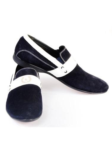 Wessi Klasik Süet Ayakkabı Lacivert